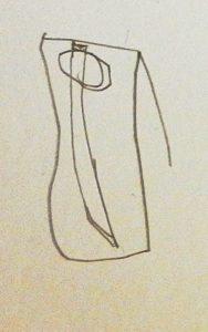 Degen gezeichnet