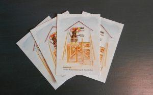 Postkarte Grüße von der Museumsmaus